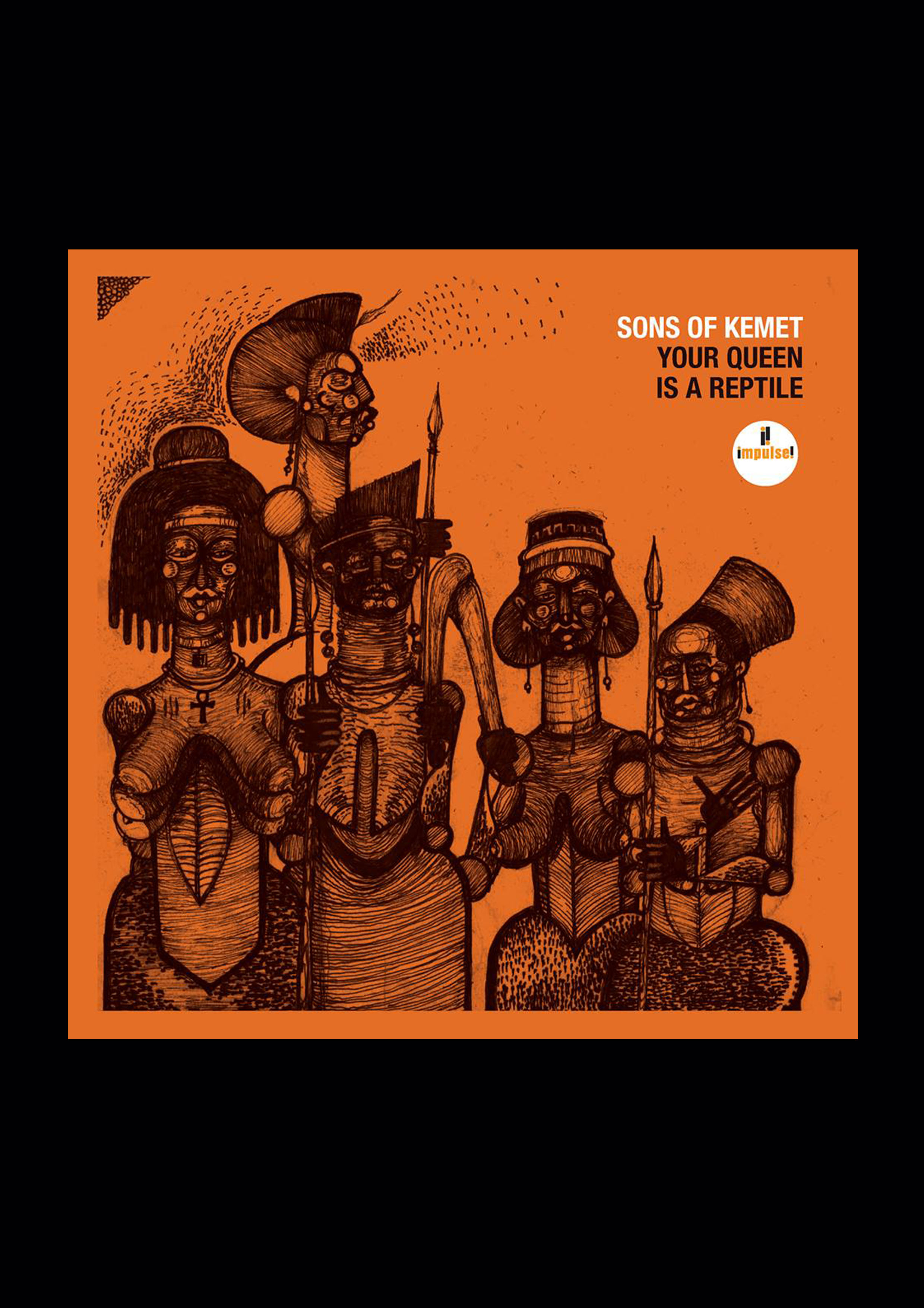 NEW ALBUM: Sons Of Kemet - Your Queen Is A Reptile - Diplomats of Sound